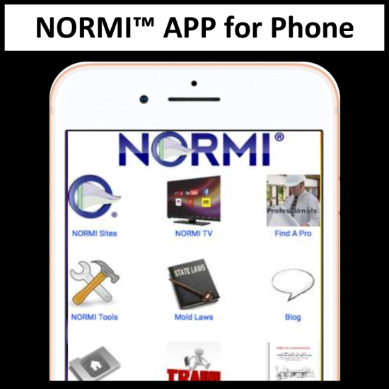 NORMI™ APP for Phone