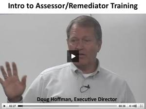 Intro to Assessor/Remediator Training